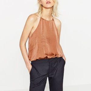 Zara Satin Bodysuit